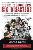 Book Tiny Blunders Big Disasters