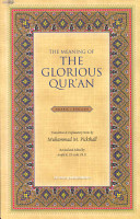 The Meaning of the Glorious Qur an