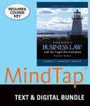 Andersons Business Law and the Legal Environment  Standard Vol    Mindtap Business Law  2 Terms 12 Months Printed Access Card