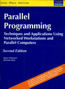 Parallel Programming: Techniques And Applications Using Networked Workstations And Parallel Computers, 2/E