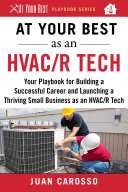 At Your Best as an HVAC/R Tech Book