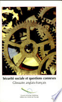 Social Security and Related Matters English-French Glossary