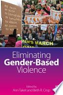 Eliminating Gender Based Violence