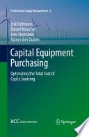 Capital Equipment Purchasing