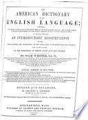 An American Dictionary Of The English Language : ...