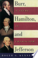 Burr  Hamilton  and Jefferson