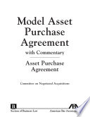 Model Asset Purchase Agreement