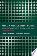 Health Measurement Scales A Practical Guide To Their Development And Use