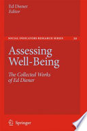 Assessing Well Being