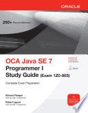 OCA Java SE 7 Programmer I Study Guide  Exam 1Z0 803