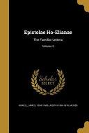 EPISTOLAE HO ELIANAE