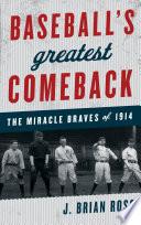 Baseball s Greatest Comeback