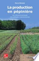 La production en p  pini  re