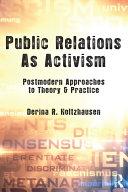 Public Relations As Activism
