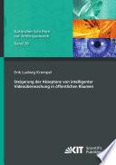 Steigerung der Akzeptanz von intelligenter Videoueberwachung in oeffentlichen Raeumen
