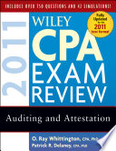 Wiley CPA Exam Review 2011  Auditing and Attestation