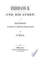 Ferdinand II und die Juden