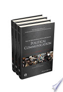The International Encyclopedia of Political Communication  3 Volume Set