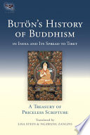 Buton S History Of Buddhism In India And Its Spread To Tibet
