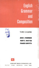 English grammar and composition  third course