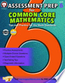 Assessment Prep for Common Core Mathematics  Grade 6