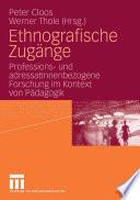 Ethnografische Zugänge