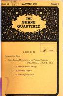 The Shane Quarterly