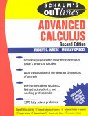 Schaums Outline of Advanced Calculus  Second Edition