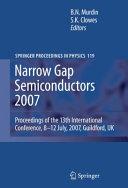 Narrow Gap Semiconductors 2007