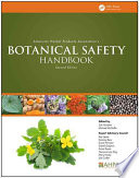 American Herbal Products Association S Botanical Safety Handbook Second Edition