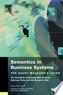 Semantics in Business Systems