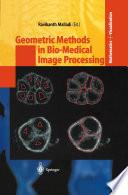 Geometric Methods In Bio Medical Image Processing