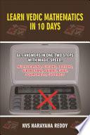 Learn Vedic Mathematics in 10 Days Subtitile