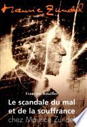 Le scandale du mal et de la souffrance chez Maurice Zundel