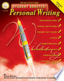 Student Booster  Personal Writing  Grades 4   8