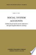 Social System Accounts