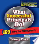 What Successful Principals Do