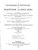 download ebook an etymological dictionary of the scottish language pdf epub