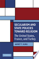Secularism and State Policies Toward Religion