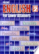 Folens English for Lower Attainers