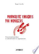 Provocazioni manageriali