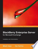 Blackberry Enterprise Server For Microsoft Exchange