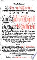 Denckwürdiges Leben, und Thaten des ... Marschalls, Herrn C.s L. A. F.s v. Belleisle, etc