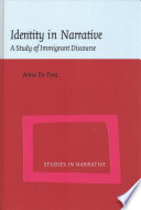 Identity In Narrative