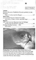 Michigan Birds and Natural History