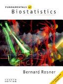 Fundamentals of Biostatistics Book PDF