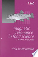 Magnetic Resonance In Food Science book