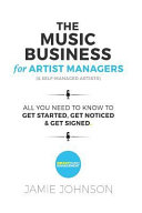 the music business for artist managers self managed artists