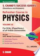 S Chand S Success Guide R C B Sc Physics Vol  3