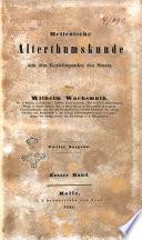 Hellenische Alterthumskunde aus dem Gesichtspunkte des Staats von Wilhelm Wachsmuth
